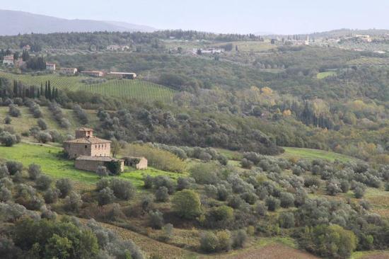 Castello del Nero Boutique Hotel & Spa: View from the balcony