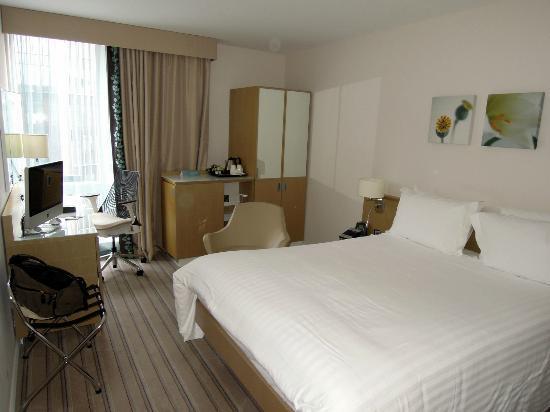 Hotel von vorne Picture of Hilton Garden Inn Birmingham