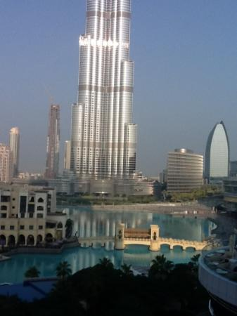 The Address Downtown Dubai: the view from my room was great