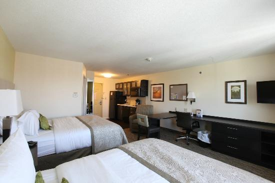 Candlewood Suites St Joseph: Double Queen Studio Suite