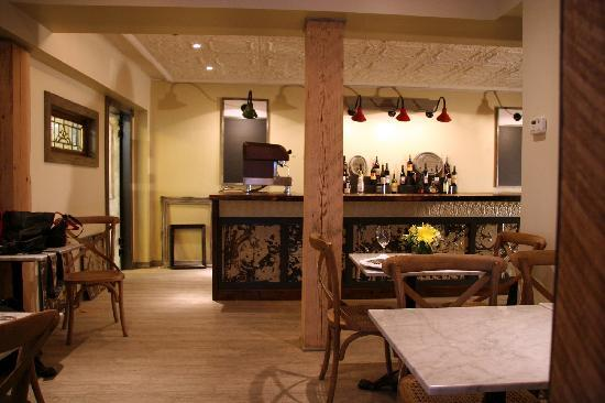 Pomodoro Trattoria & Wine Bar : Our restoration of a 160 year old building!