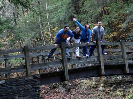 Hope Lake Lodge & Conference Center: Buttermilk Falls 