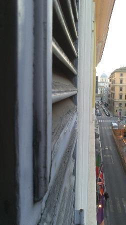 Hotel Mondial: Вид из окна