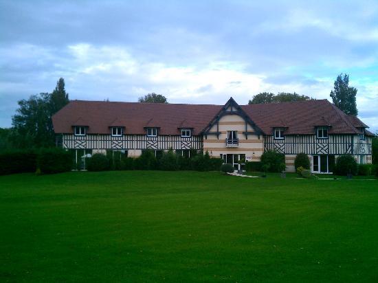 Hôtel Le Manoir de la Poterie & Spa : vue du manoir