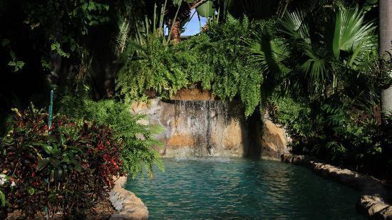 Ed Lugo Resort: der Wasserfall vom Pool... herrlich!