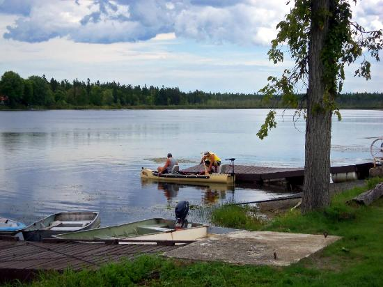 View of the fishing dock near the restaurant picture of for Fishing docks near me