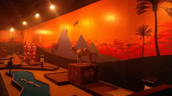 The Lost City: New Mini Golf theming - Travel to Egypt!