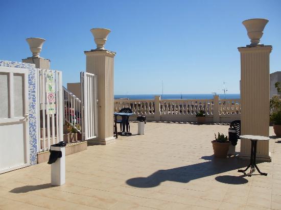 Magic Cristal Park Hotel: view over benidorm