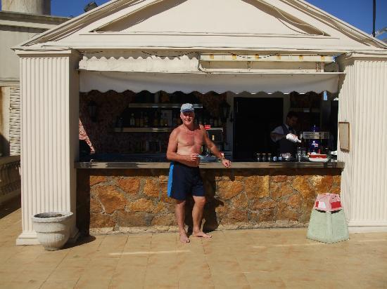 Magic Cristal Park Hotel: rooftop bar