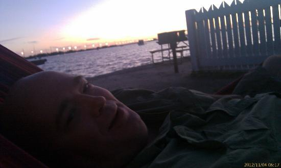 Boyd's Key West Campground: I don't wake up smiling... usually...
