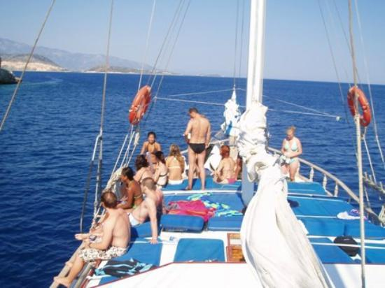 Road Runner Travel - Day Tours: Boat Cruise from Fethiye