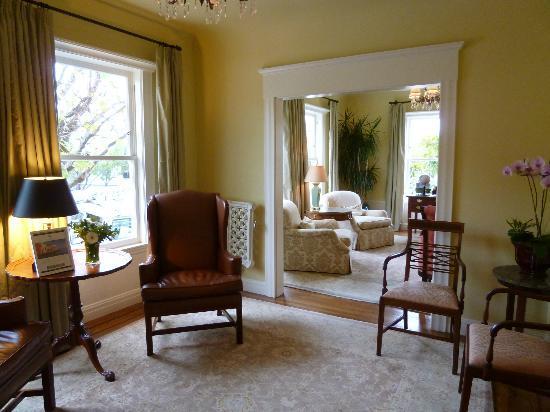 Hotel Drisco: Sitting room