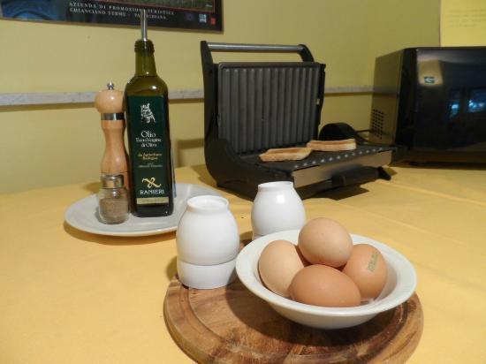 Il Grifo Hotel e Prosciutteria: Breakfast