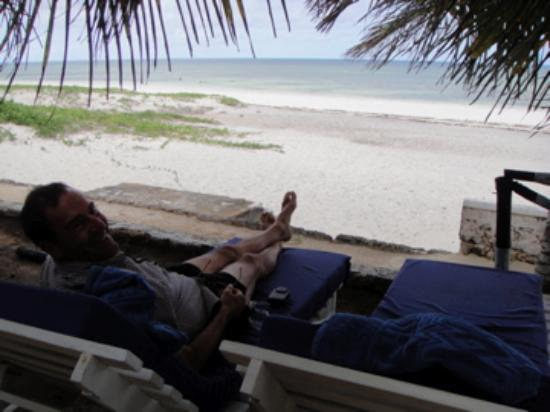 Baobab Sea Lodge: View from the lounge chair