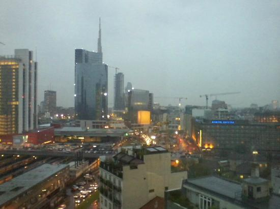 AC Hotel Milano: View from my hotel window