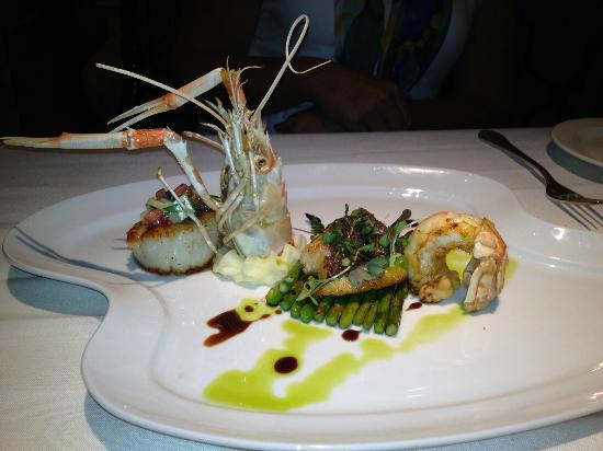 Sale E Pepe: Langostino, Snapper and Scallop
