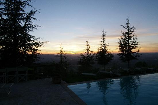 Agriturismo Le Mandrie di San Paolo: View from pool area
