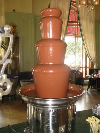 Rotonda: шоколадный фонтан