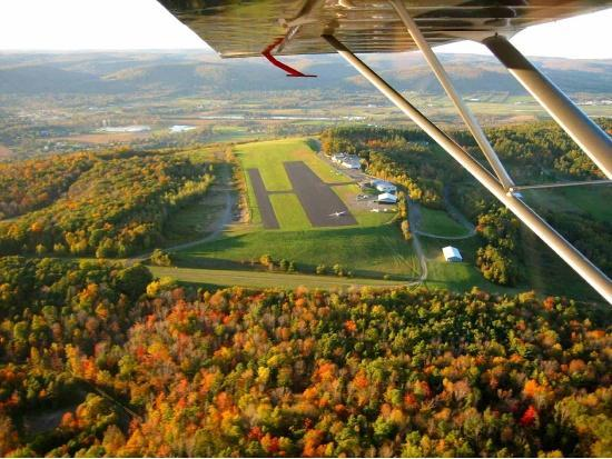 Finger Lakes Wine Country, NY: Take in the views from a glider