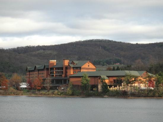 Rocky Gap Casino Resort: View from the lake.