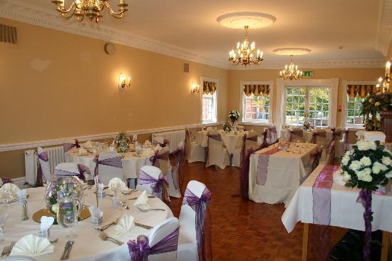 Elme Hall Hotel: our wedding breakfast room set up