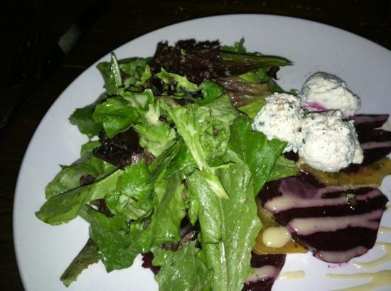 Carmella's: roasted beet salad....delicious!