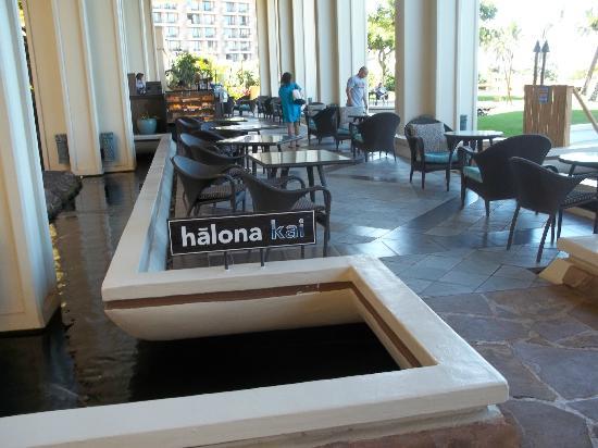 Hyatt Regency Maui Resort and Spa: Continental breakfast and coffee