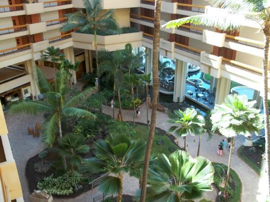 Hyatt Regency Maui Resort and Spa: Atrium view from above