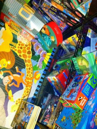 Puzzles and games at Off The Beaten Path Bookstore