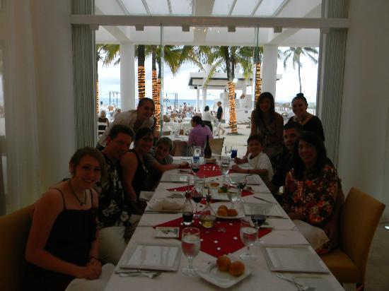 Playacar Palace: Dinner at the Italian 