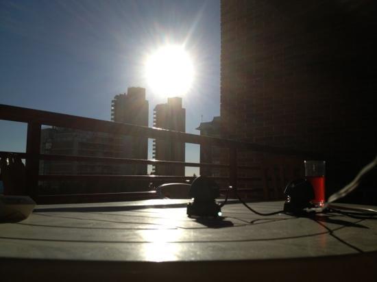 Carlos V Apartments: view from balcony