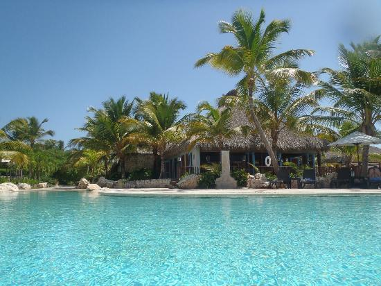 Sanctuary Cap Cana by Playa Hotels & Resorts: view from the pool of the Blue Marlin restaurant