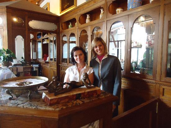 Hotel Mulino di Firenze: Veruska