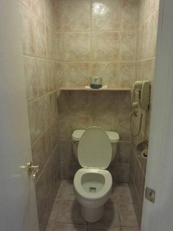 Cove Haven Resort: part of the bathroom