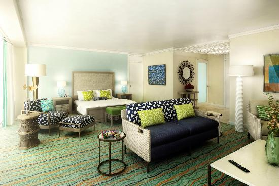 Hilton Curacao: RENOVATED King Bed Junior Suite