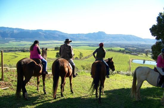 Horse About Trails: The picnic spot - with panoramic views of the Tulbagh and Wtizenberg Valley