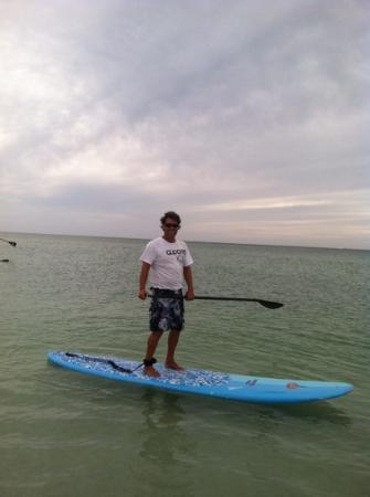 Sarasota Paddleboard Company: Bob chillin