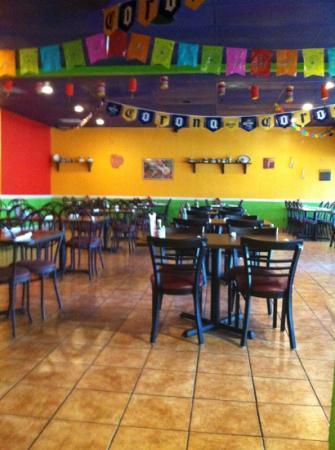 Margarita's: dining areas