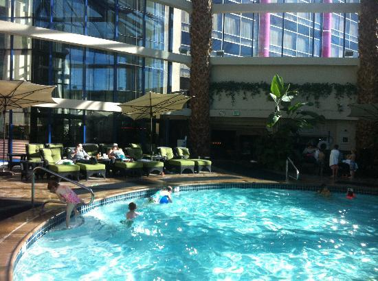 Outdoor pool area picture of atlantis casino resort spa - Reno hotels with indoor swimming pool ...