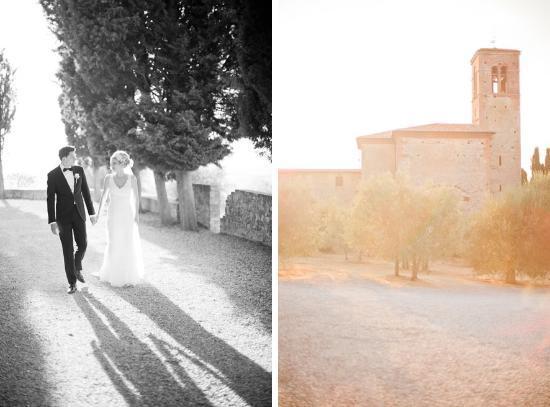Agriturismo Sant'Anna in Camprena: Ein glückliches Brautpaar an einem perfekten Ort