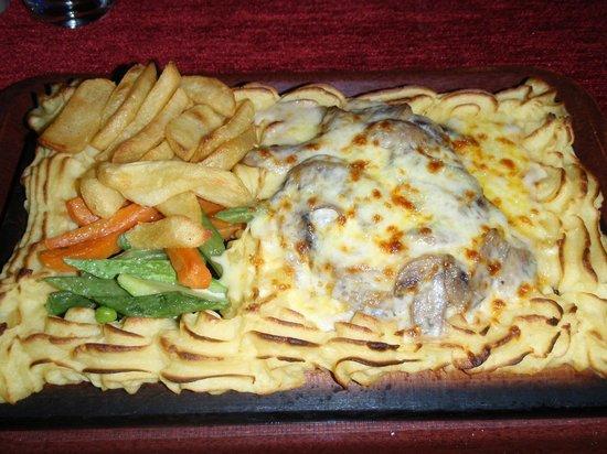 Holiday Restaurant: Plank Steak