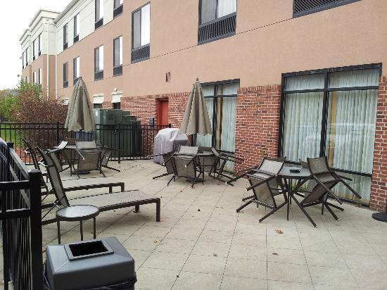 SpringHill Suites Morgantown: Have fun on our outdoor patio with family or friends