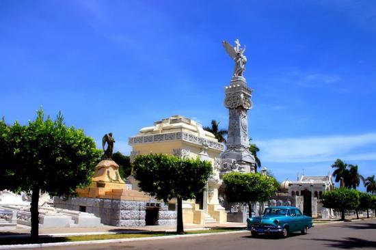 Christopher Columbus Cemetery (Cemetario de Colon): Colon Cemetery, Havana Vedado, Cuba.