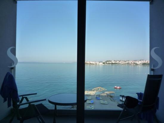 Hotel Split: vue depuis la chambre