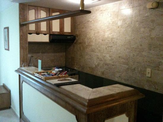 Landmark Residence: Mini-cozinha e frigobar