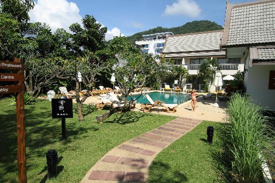 Centara Kata Resort Phuket : The quiet pool