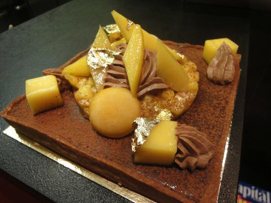 Pastry Plaisirs : Tarte chocolat et fruit exotique