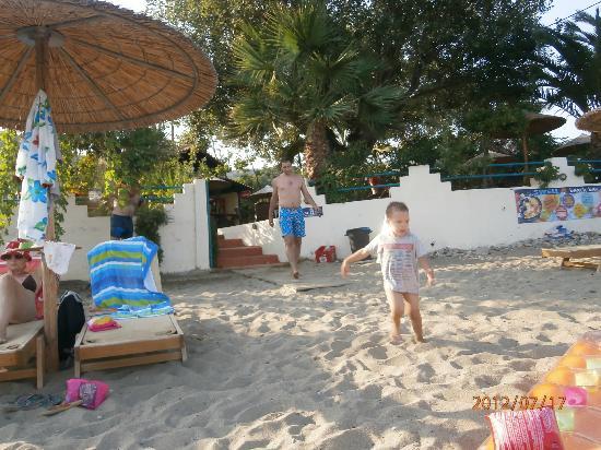 Angeliki Beach Hotel: Beach