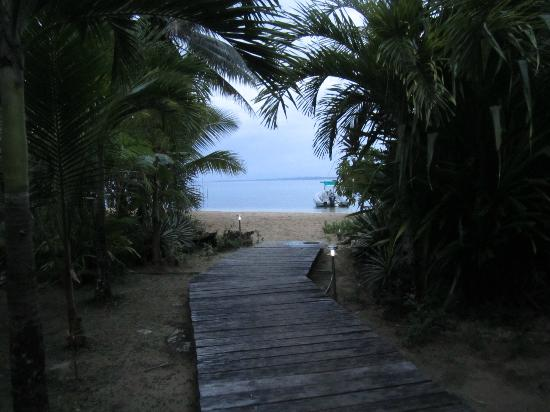 Casa Cayuco : walkway to the beach