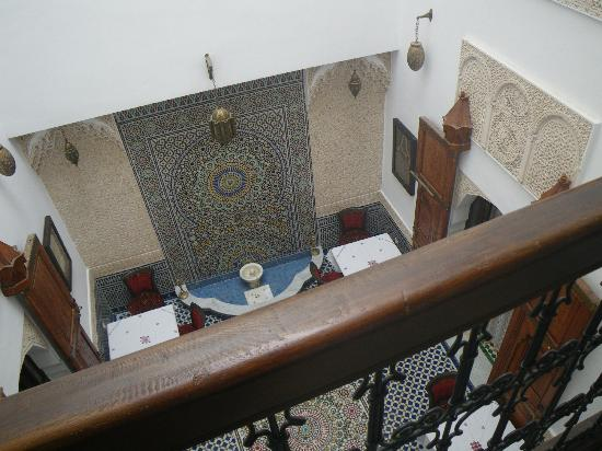 Dar Fes Medina: the patio